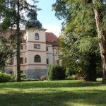Zámecký park slouží k pořádání akcí a svateb